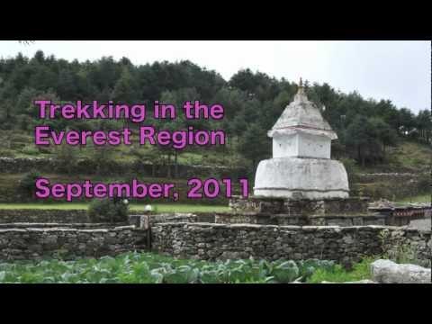 Trekking in the Everest Region 2011 (Nepal)
