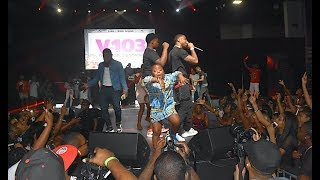YFN Lucci Daughter Can Dance, Reginae Carter Spotted At V103 Car n Bike show