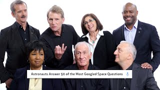 Astronauts Answer 50 of the Most Googled Space Questions | WIRED width=
