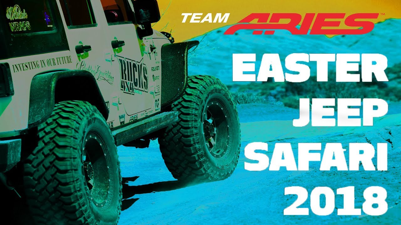 Easter Jeep Safari 2018 Team ARIES Video