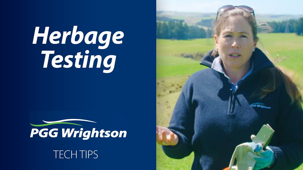 Herbage Testing | PGG Wrightson Tech Tips