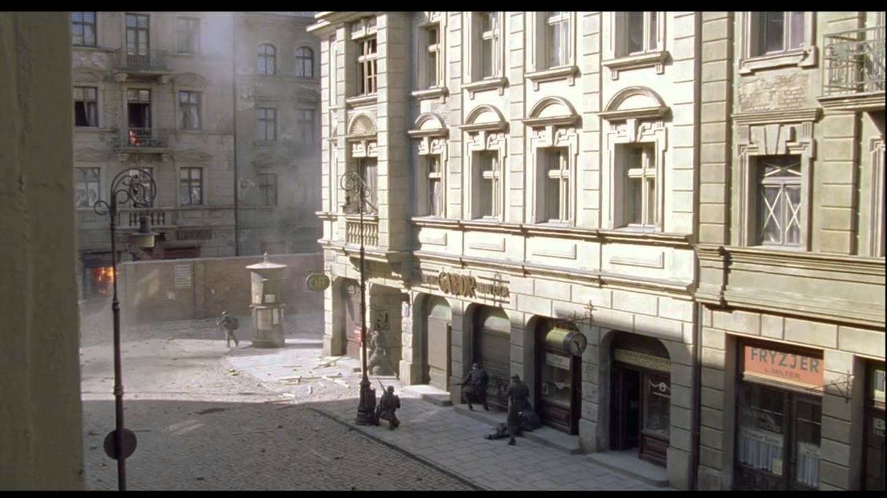The Jews Fight Back Scene from the Movie - The Pianist