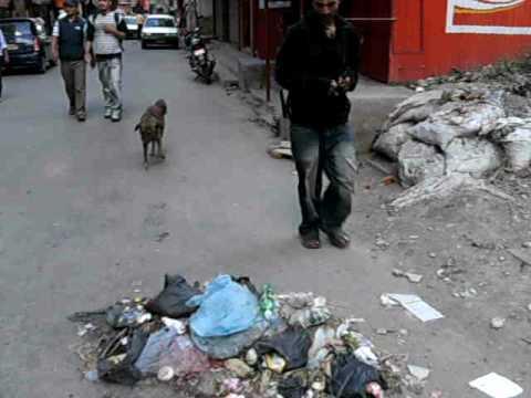 Martin in Nepal – Spaziergang durch Kathmandu
