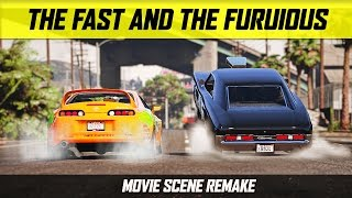 Grand Theft Auto 5 - The Fast and the Furious Drag Scene