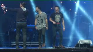 Show gravado na festa da Portuguesa por Perna´s Video Produções, Musica 1 por cento vagabundo