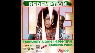 Redemption LIVE - February 7, 2016 - 4PM-11PM - live.ceen.tv/bobmarley