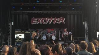 "Exciter "" Stand Up And Fight"" live at Fall of Summer fest 03.09.2016"
