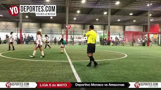 Deportivo Monaco vs Amazonas Liga 5 de Mayo