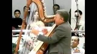 Hino  Fica Senhor , Tocado Por Instrumento Harpa