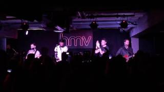 Bastille - Send Them Off! live @ HMV Oxford Street 14/09/16