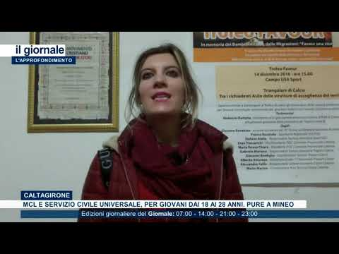 """(VIDEO) """"SCEGLI IL SERVIZIO CIVILE UNIVERSALE E VIENI CON NOI IN M.C.L DI MINEO E DI CALTAGIRONE"""""""