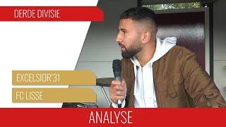 "Screenshot van video Boy Boeloerditi: ""1-1 is een terechte uitslag"" | Analyse Excelsior'31 - FC Lisse"