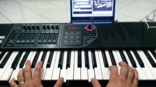 Santo, introdução teclado
