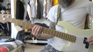 (the) Melvins - June Bug (bass cover)