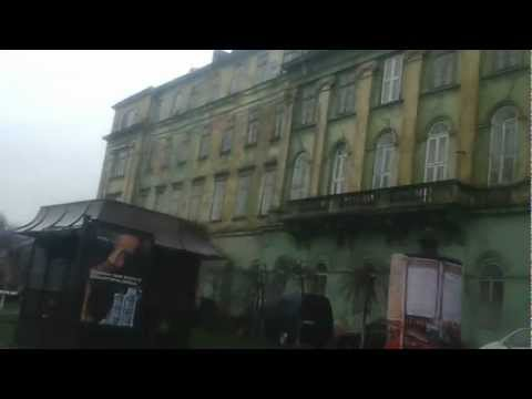 The rain in Lviv from the car, 30.12.2012, +2°, 16:45 (GMT -3h), 49n50, 29e00