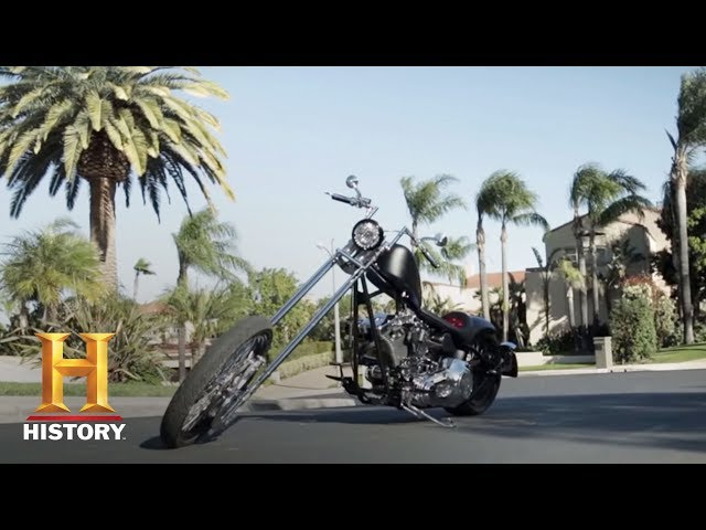 Tommy Lee's Chopper