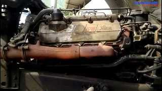 Hino EF750 V8 Engine View