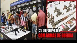 DENARC PRENDE 20 INTEGRANTES DO FDN QUE PLANEJAVAM EMBOSCADA AO PCC