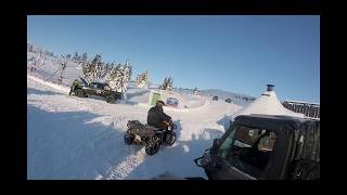 Renegade 1000cc xxc 2018 snow hillclimb