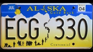 Behind the License Plate: Alaska Gold Rush Centennial