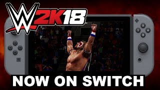 Vídeo promocional de WWE 2K18 para Nintendo Switch
