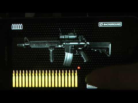 Android Apps : SIM GUN COLT M4A1MWS (Moduler Weapon System)