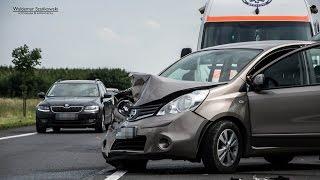 24.07.2015 - DK3 Polkowice - zdarzenie drogowe