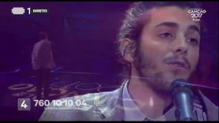 Salvador Sobral - Amar Pelos Dois - Final | Festival da Canção 2017 | RTP