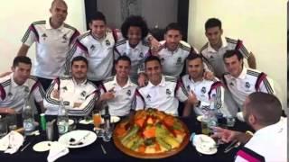 نجوم ريال مدريد  الكسكس هههه