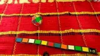 Rubik twist kirakása focilabdává