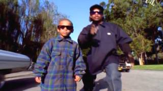 EAZY E - BOYZ IN THE HOOD - OFFICIAL FANMADE MUSIC VIDEO - REAL NWA FOOTAGE