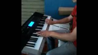 Introdução música Raça Negra, no PIANO