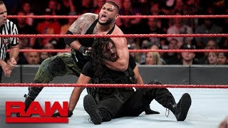 The Shield vs. Baron Corbin & AOP: Raw, Sept. 24, 2018