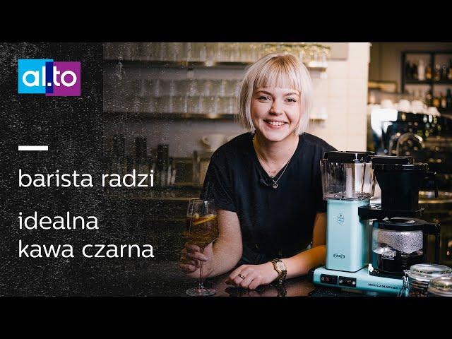 Barista radzi jak zrobić dobrą CZARNĄ KAWĘ w domu? Espresso Kawa Przelewowa Americano Espresso tonic