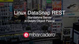 Creating a DataSnap REST Application on Linux with Delphi