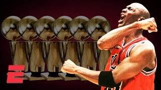 Michael Jordan sinks 'The Last Shot' over Bryon Russell to seal Bulls' 6th title | 1998 NBA Finals