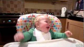 Baby & adult laugh .flv