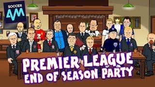 No Champions League for Wenger & Conte wins title! Premier League End of Season Party! | 442oons