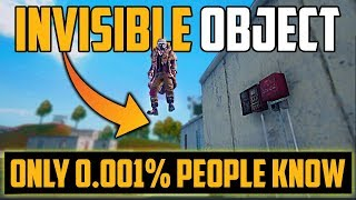 Invisible Object in Pubg Mobile Tips and Tricks
