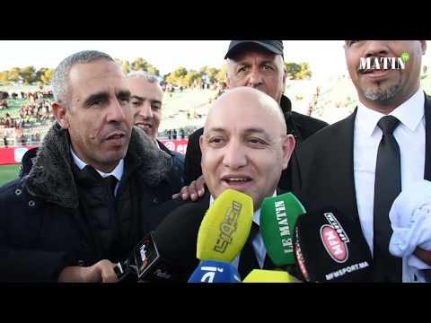 Video : Coupe du Trône 2019: Décralation de Abderrazak El Manfalouti, président du TAS