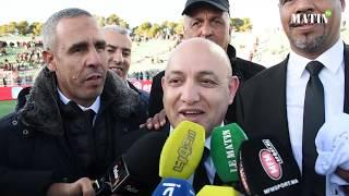Coupe du Trône 2019: Décralation de Abderrazak El Manfalouti, président du TAS