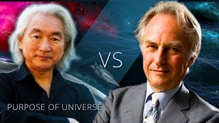 Does the universe have a purpose or meaning | Michio Kaku vs Richard Dawkins Debate