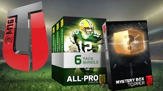 MYSTERY BOX! All Pro Bundle Pack Opening - Madden 16 Ultimate Team