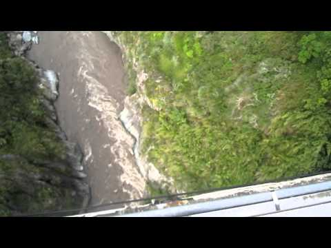 Bridge Jumping in Ecuador