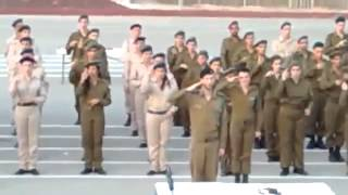IDF Soldiers Perform Israeli National Anthem in Sign Language