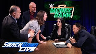 Styles & Nakamura trade barbs during explosive contract signing: SmackDown LIVE, June 5, 2018