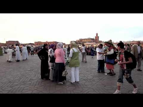 Djemaa el Fna. Marrakech.