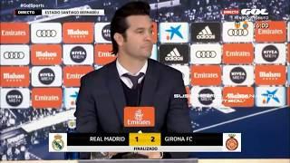 REAL MADRID 1-2 GIRONA  |SANTIAGO SOLARI EXPLICA LA DERROTA