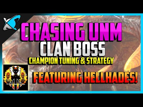 RAID: Shadow Legends | CHASING UNM CLAN BOSS feat. HellHades | 100% F2P