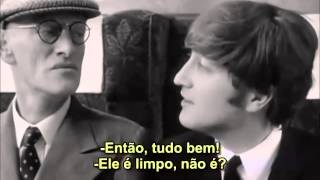 Is Paul´s Grandfather SCENE - A Hard Day`s Night - 1964 ( Legendado PT-BR )